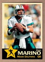 Dan Marino '84 Miami Dolphins 48 TD season Monarch Corona Gold Star #5