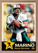 Dan Marino '84 Miami Dolphins 48 TD season Monarch Corona Gold Star #5