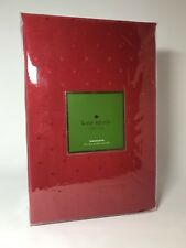 """*NEW* Kate Spade Larabee Dot Tablecloth - 70"""" x 122"""" - Cranberry Red"""