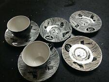 homemaker Ridgeway 2 tea cups coffee cups and 5 saucers