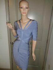 VENUS BLUE BANDAGE STRETCH SEXY COCKTAIL DRESS NWT SIZE: XS