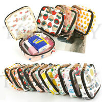 Waterproof Makeup Purse Cosmetic Toiletry Case Travel Portable Coin Zipper Bag