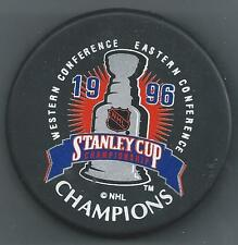1996 Stanley Cup Champions  Colorado Avalanche  2-Sided Souvenir Hockey Puck
