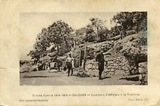 OULCHES LA VALLEE FOULON Guerre 1914 1916 Cuisiniers Officiers à la Tranchée