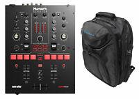 Numark Scratch 24-Bit 2-Channel Serato DJ Pro DVS Scratch Mixer + Backpack