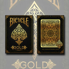 214361 Bicycle Gold Playing Cards, The Gold Deck, Luxuriöse Poker Spielkarten
