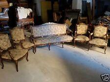 Salotto divano e quattro poltrone - stile Napoleone III - inizio '900