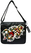 Snake Sugar Skull Hand Bag Purse Tattoo Rockabilly Sourpuss Steam Punk Bettie