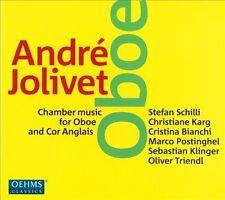 André Jolivet Musique de chambre pour hautbois, New Music