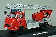 SCHUCO 03241 Feuerwehr Drehleiter Hanomag Garant  1:43