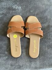 New Look Tan Sandals Size 4
