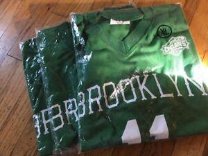 Brooklyn Cyclones #11 2011 SGA XL Green & White Jersey Irish Night Promo