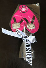 Footsielicious Flip Flop Fun HELLO KITTY Shoe Charms dazzle your shoes NEW