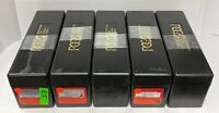 Lot of 5 Black PCGS Boxes Used Each Box Holds 20 PCGS Slabbed Coins
