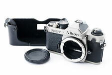 [Near Mint] Nikon FM2/T (titan) 35mm SLR Film Camera Body w/Half Case From Japan