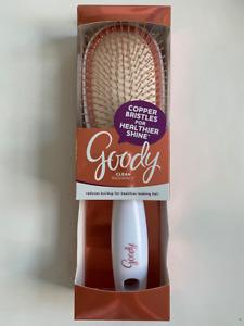 Goody Copper Bristles for Healthier Shine hair - Clean Radiance hair brush Women
