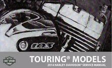 2014 Harley Touring Service Manual Repair with Electrical Diag and Parts CD