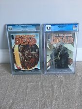 THE WALKING DEAD #27 & 108 - 1ST APPEARANCE OF THE GOVERNOR & EZEKIAL CGC 9.8 WP