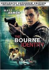 The Bourne Identity DVD 2004 The Explosive Extended Edition Widescreen Bilingual