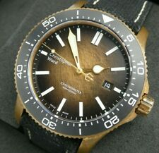 Christopher Ward C60 Bronze Ombre Ltd Edition COSC Automatic 43mm Swiss Made
