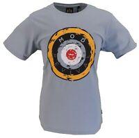 Stomp Clothing Blue Mod Revival 100% Cotton T Shirt