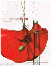 PUBLICITE ADVERTISING 105  2006  KENZO  parfum FLOWER femme