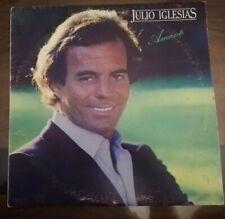 """LP 33 GIRI JULIO IGLESIAS """"AMANTI"""" 1980 CBS 84805"""