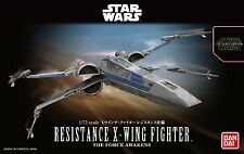 Star Wars 1/72 Resistance  X-Wing Starfighter (Force Awakens), Bandai