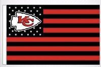 Kansas City Chiefs 3x5 Ft American Flag Football New In Packaging