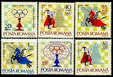 1966 Chess Olympiad,Havana,Scacchi,Schach,Echecs,Sah,Romania,Mi.2478,CV$13,MNH