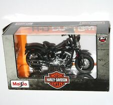 Maisto - Harley Davidson 2008 FLSTSB CROSS BONES (Black) Model Scale 1:18