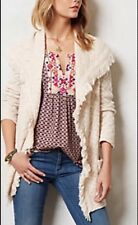 """""""Chevron Cable Cardigan"""" by Angel Of The North, Ivory--M"""
