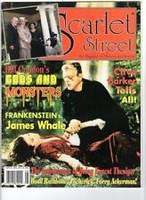 WoW! Scarlet Street #30 Bride Of Frankenstein! Zacherley! Ernest Thesiger!
