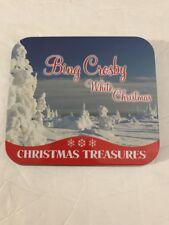 Bing Crosby - White Christmas CD Tin Case Tested Rare Vintage Ships N 24h