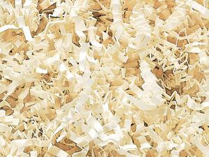 Crinkle Paper Shred for Packaging Gift Box / Basket Filler 6 Ounce Bag