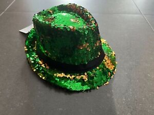 St Patricks Day Sequence Hat