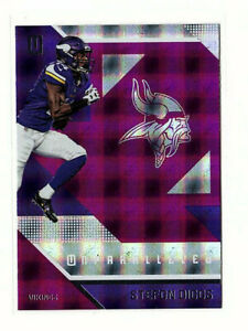 Stefon Diggs 2016 Panini Unparalleled #40 Purple Parallel