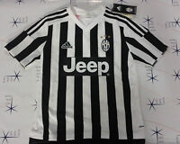 Adidas Juventus t-shirt maglia ufficiale juve bianco - nero 2015 - 2016  AA0336