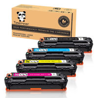 4PCS CE320A CE321A CE322A CE323A 128A Toner  for HP LaserJet Pro CM1415 CP1525nw
