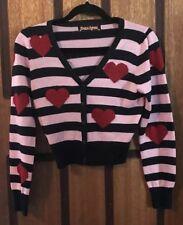 Beautiful Near New Princess Highway Heart & Stripes Cardigan - Size 10