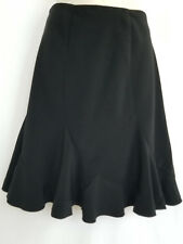 White House Black Market Women's Size 4 Skirt Ruffles Knee Length Unlined