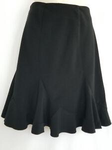 White House Black Market Women's Skirt Size 4 Ruffles Knee Length Career