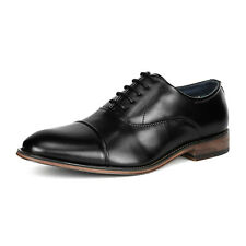 Bruno Marc Mens Classic Oxford Shoes Lace Up Wingtip Business Leather Shoes