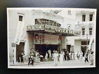 Wan Chai Cinema Theater Johnston Road Vintage Hong Kong Photo Postcard RPPC 2971