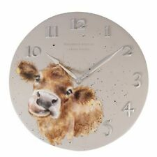 Wrendale Designs - Cow Wall Clock