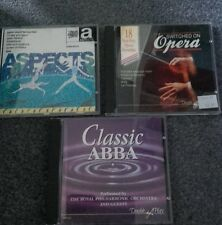 Classical cds opera palm court favourites philharmonic etc set of 3 cd albums