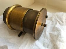 Brass Petzval Type Camera,  Magic Lantern or Projector Lens. Unbranded