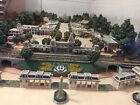 Olszewski Disneyland Main Street USA - FULL SET w/ train, platform & clear case