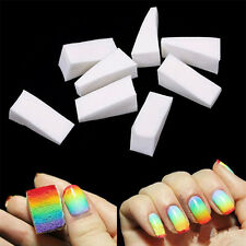 8PCS Nail Sponges for Acrylic Manicure Gel Nail Art Care DIY Smooth And Soft