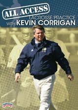 Kevin Corrigan's All Access Lacrosse Practice - 3 DVDs (5 hours & 43 mins)